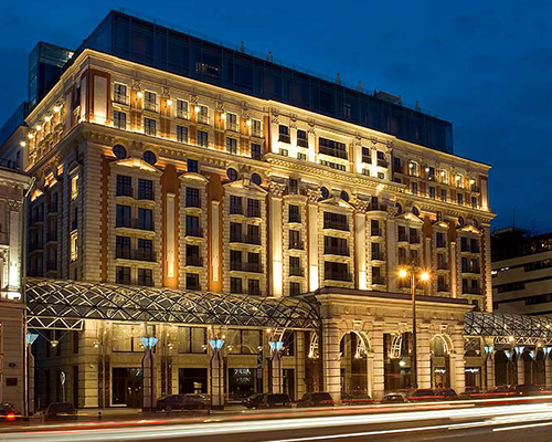Объект: The Ritz-Carlton Moscow